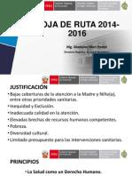 Hoja de Ruta 2014-2106 - 3 Marzo