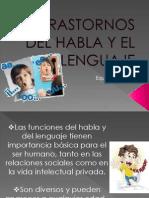 Trastornos Del Habla y El Lenguaje
