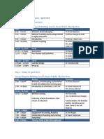TAUSA Program April (2)