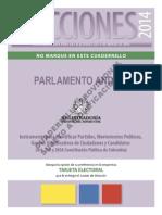 Cuadernillo de Parlamento Andino