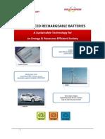 Advanced Rechargeable Batteries