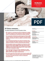 Nomura Special Report - When China Sneezes