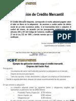 Presentacion Credito Mercantil Icdt
