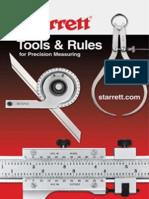 "Starrett Special Mechanical Micrometer Head .500/"" Range Threaded Base"