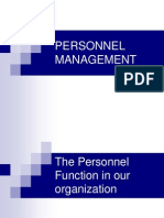 Personnel Management Imp