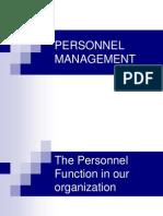 Personnel Management Imp