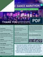 April 2014 UNC Dance Marathon Newsletter