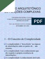 0 Apresentacao Projeto Arquitetonico de Funcoes Complexas