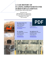 Refractory Lining in Sulfur Recovery Units