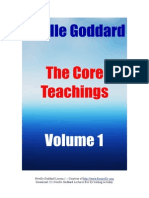 Neville Goddard PDF Core Teachings 1