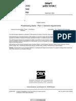 prEN 10138-1:2000 Prestressing steels  Part 1:General requirements