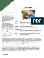 Down Syndrome - Wikipedia, The Free Encyclopedia