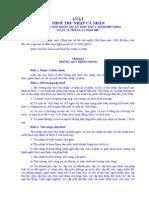 52937_L4QH. Luật Thuế TNCN