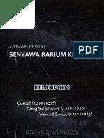 Kelompok 8 - Barium Klorida