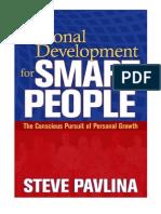 Стив Павлина - Личностный рост для умных людей - 2008