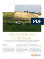 Romania's Roads to Nowhere