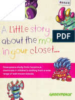 A Little Story About the Monsters in Your Closet - Report