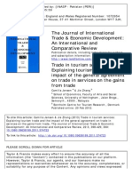 Trade in Tourism Services Explaining Tourism Trade and The