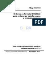 Transferencias Sepa Xmliso20022