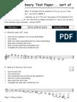 Grade 3 music theory
