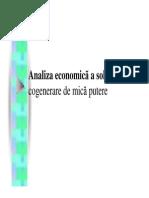 Cogenerare 8 analiza economica