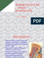 Askep Osteomyelitis.