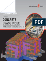 BCA Concrete Usage Index