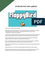 Flappy Bird Ditarik Dari Toko Aplikasi