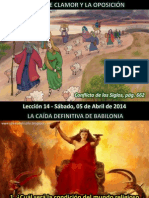 Lección 14 - Fuerte Clamor y Oposición.pdf