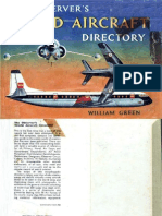 (1961) The Observer's World Aircraft Directory