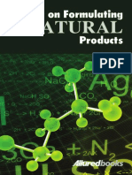 Formulating Natural Products