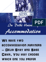 New Accommodation Pack