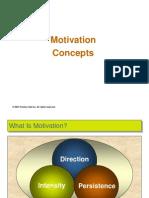 Chapter 7 Motivation Concepts