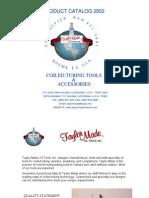 Bha Coil Tubing Catalog