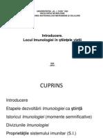 Introducere Imunologiei in Stiintele Vietii