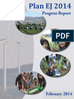 EPA Plan Environmental Justice Progress Report - Feb 2014