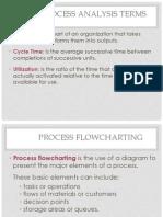 Process analysis terms