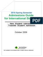 2010 First Half Semester-English