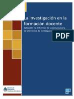 La investigación en la FD 2- convocatoria 2008 (1)