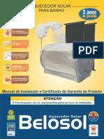 Manual Aquecedor Belosol Rev3