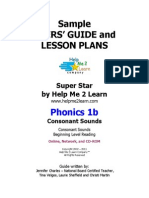 Phonics 1b Sample User Guide