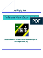 Tanzania telecom overview