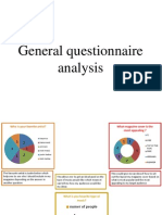 general questionaire analysis