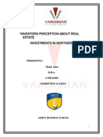 Project Report on Vardhman Real Estaes