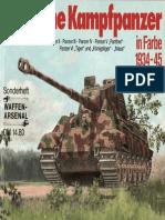(Waffen-Arsenal Sonderband S-2) Deutsche Kampfpanzer in Farbe 1934-1945
