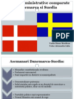 Sisteme Administrative Comparate Danemarca Si Suedia