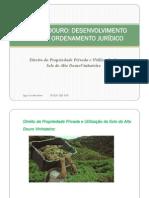 Direito da Propriedade Privada e Utilização do Solo do Alto Douro Vinhateiro