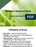 Philippine Medicinal Plants