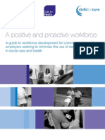 A Positive and Proactive Workforce WEB
