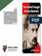 The Political Thought of Errico Malatesta Felipe Correa